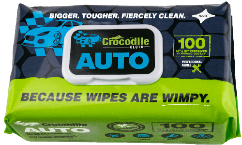 Crocodile Cloth Auto Samples
