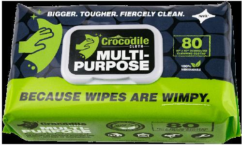 Crocodile Cloth Multipurpose samples