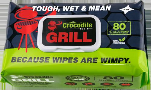 Crocodile Cloth Grill 80-Count