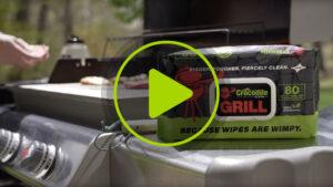 Crocodile Cloth Grill Video